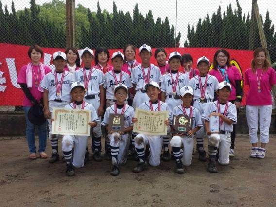 2014年度Aチーム【準優勝!!】マクドナルド・カップ 愛知県学童軟式野球選手権大会